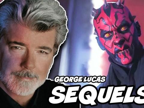 George Lucas ORIGINAL Sequel Trilogy Revealed