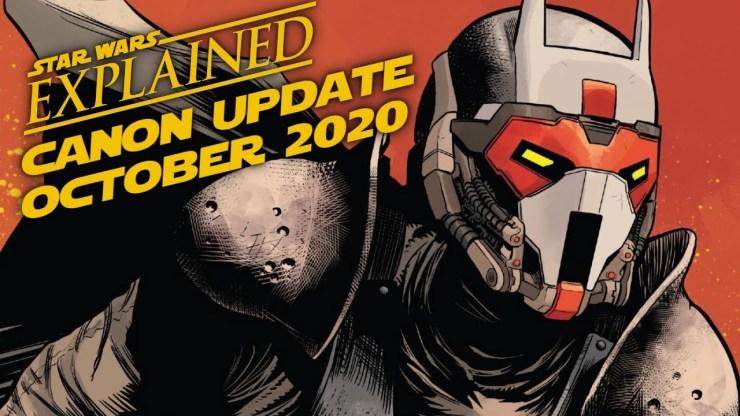 October 2020 Star Wars Canon Update