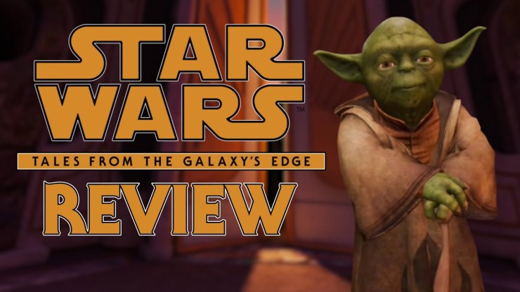Star Wars: Tales from the Galaxy's Edge - VR Game Review