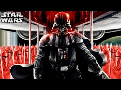 Vader Never Became Powerful Enough to Overthrow Palpatine