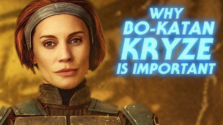 Why Bo-Katan is So Important to The Mandalorian