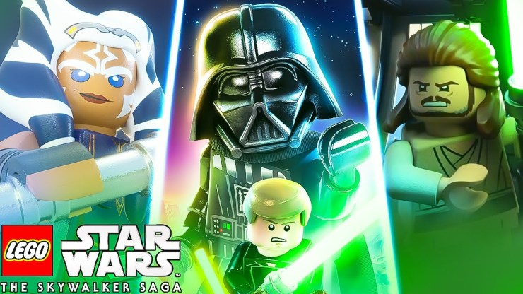 All About Lego Star Wars: The Skywalker Saga