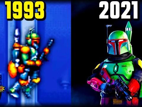 History of Boba Fett in Star Wars Games 1991 - 2021