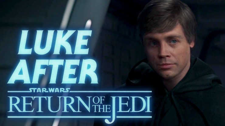 Luke's Actions Between Return of the Jedi and Mandalorian
