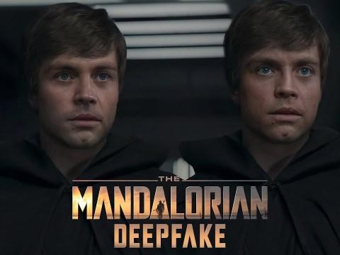 The Mandalorian Luke Skywalker Deepfake