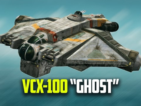 "8 Smart Features | VCX-100 ""GHOST"" Light Freighter"