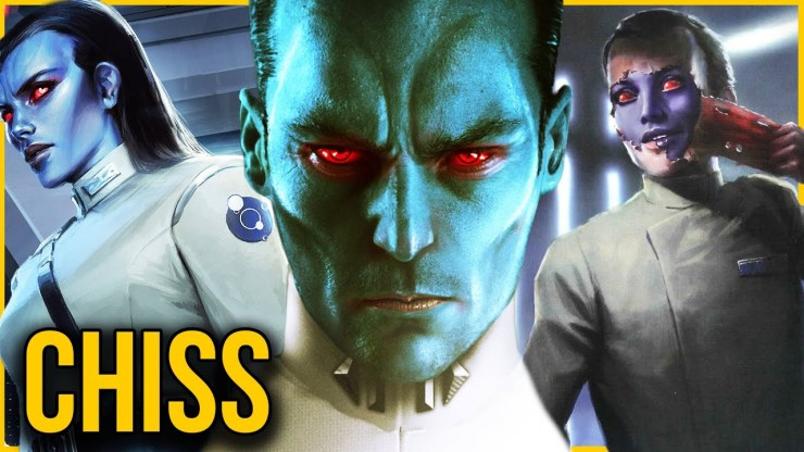 Chiss (Thrawn) Species | Complete Breakdown & History