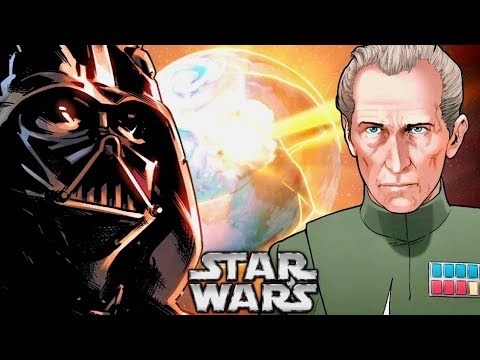 Darth Vader's Reaction to Tarkin's Decision to Destroy Alderaan!