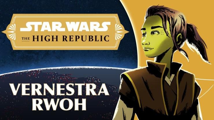 Jedi Knight Vernestra Rwoh:  Star Wars The High Republic