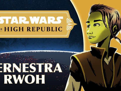 Jedi Knight Vernestra Rwoh:  Star Wars The High Republic