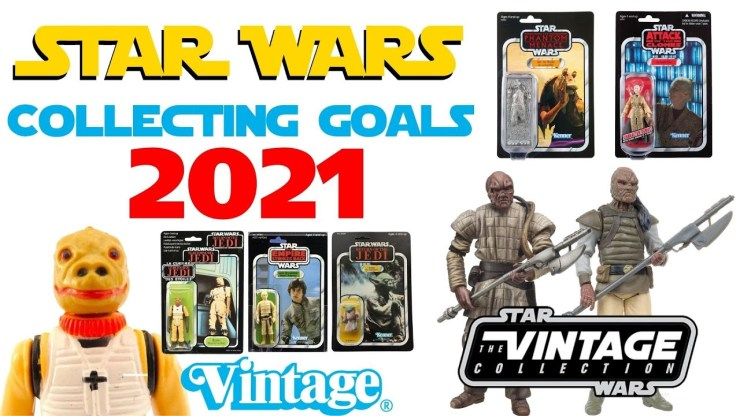 Star Wars Collecting Goals 2021