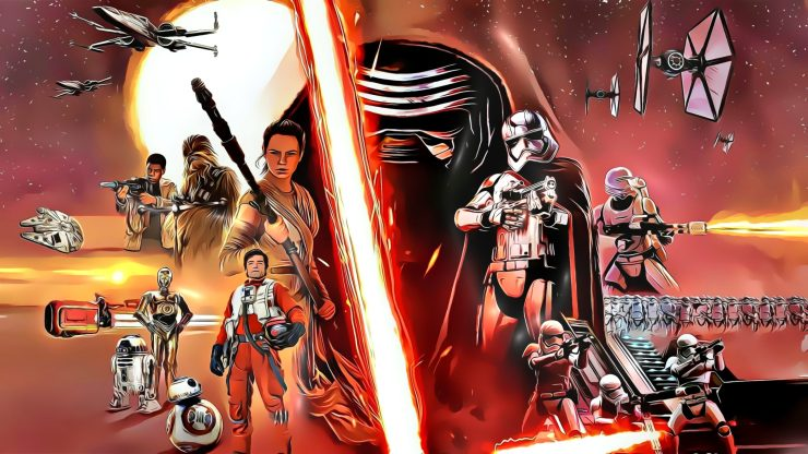 23 Beautiful & Stylish Star Wars Cartoonish Character Pictures 8