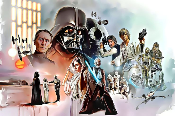 23 Beautiful & Stylish Star Wars Cartoonish Character Pictures 6