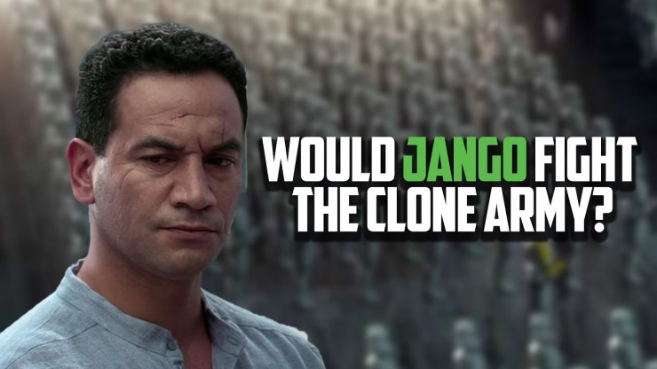 What if Jango Fett Survived the Battle of Geonosis?