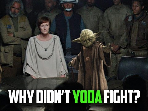 Why Didn't YODA Leave Exile to Fight the Empire?