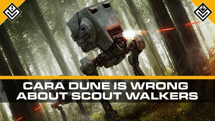 Are AT-STs Really That Deadly? Cara Dune Thinks So