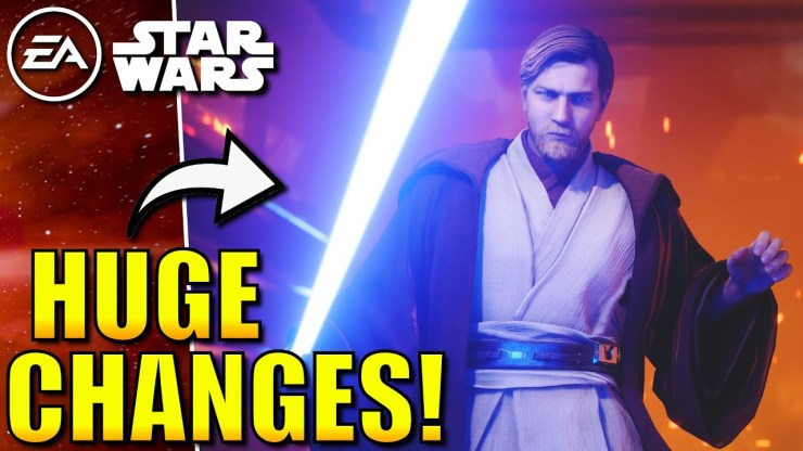 EA has made some BIG Changes to Star Wars Games!