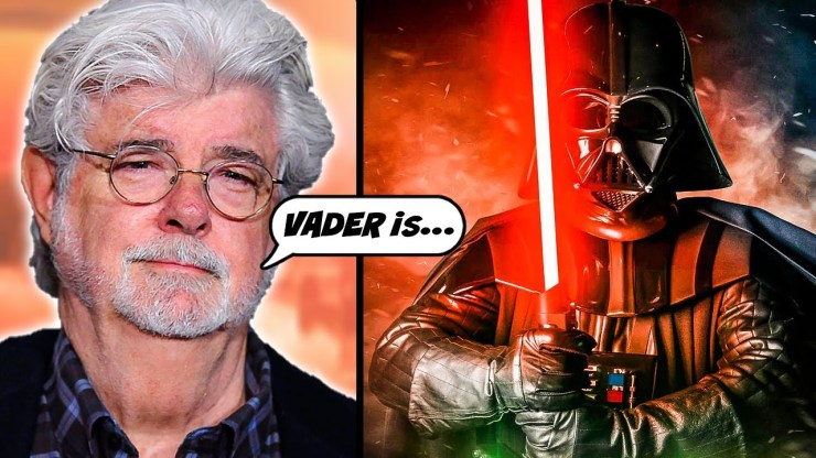 George Lucas Reveals Power Levels of Luke, Vader, Palpatine