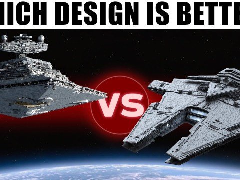 Harrower vs. Imperial Star Destroyer -- Which Design is Better?
