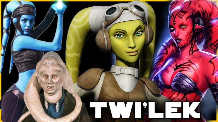 Twi'lek Species COMPLETE Breakdown (History, Bio, Culture)