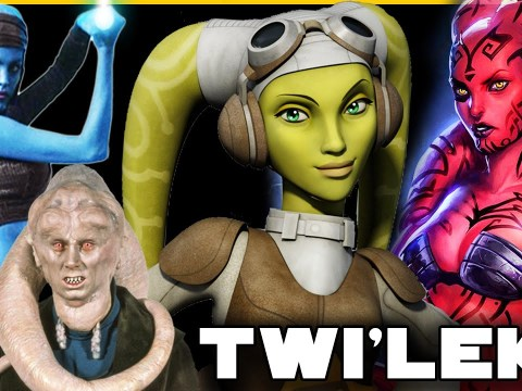 Twi'lek Species COMPLETE Breakdown (History, Bio, Culture)