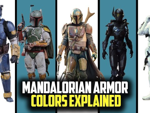 What Each Color Stands for Mandalorian Armour