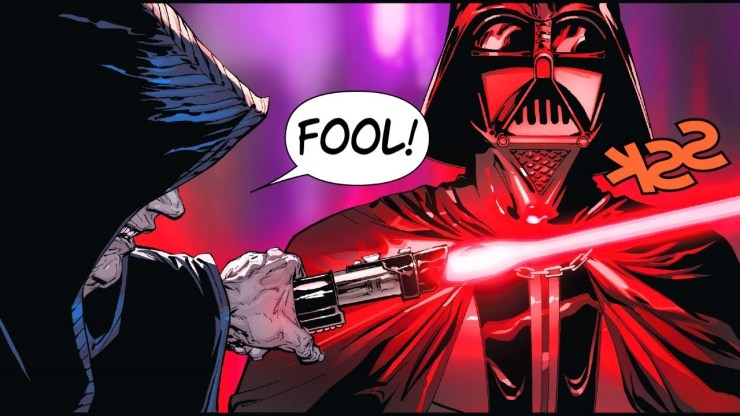 Darth Sidious PROVES That Lightsabers are Worthless (Canon)