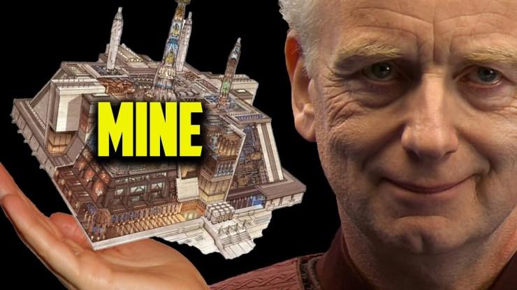 How did Palpatine Renovate the Jedi Temple?