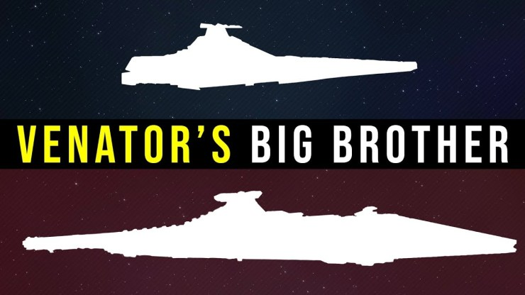 The Secutor Battle Carrier -- the Venator's Big Brother Explained