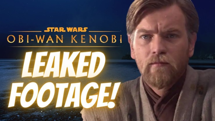 LEAKED Footage For Obi-Wan Kenobi, Big Character Update