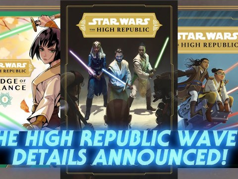 Star Wars The High Republic Wave Two - First Details Revealed