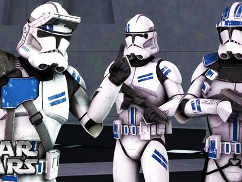 The Clone Security Troopers Who Acted As Police On Ships