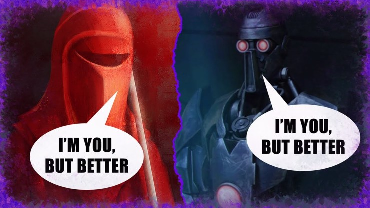 Why Palpatine Didn't Choose to Keep the OP Magnaguards