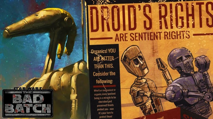 Why The BATTLE DROID REBELS Will Be in The Bad Batch