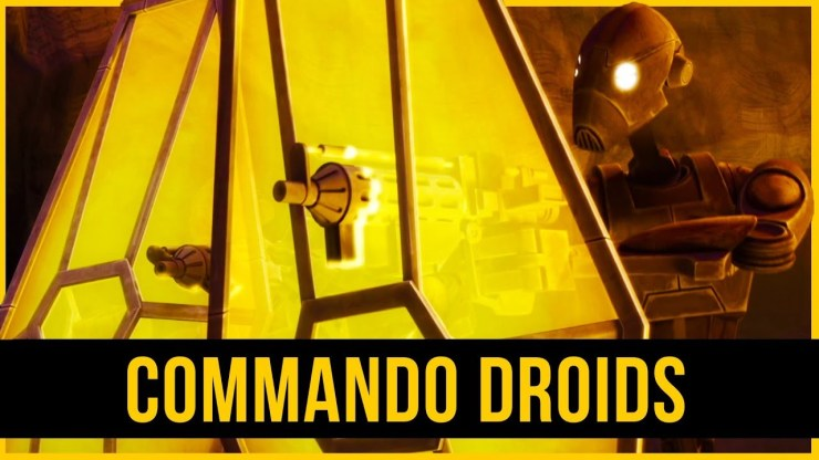 CIS Droid Army | BEST Overall Droid? | Commando Droid BX