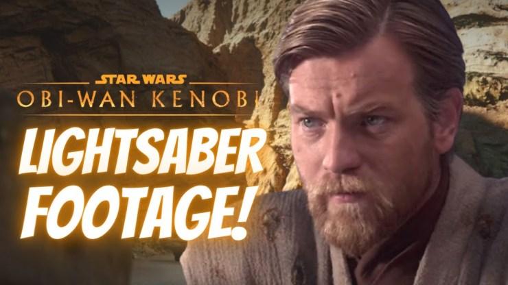 LEAKED Lightsaber Training Footage For Obi-Wan Kenobi