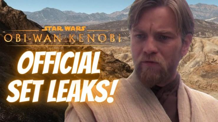 Obi-Wan Kenobi SET LEAKS, Ewan McGregor Speaks Out