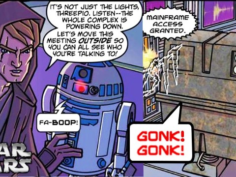 The GONK Droid Who Became a SEPARATIST Agent - Star Wars