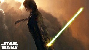The Only Jedi That Could Have a Yellow Lightsaber