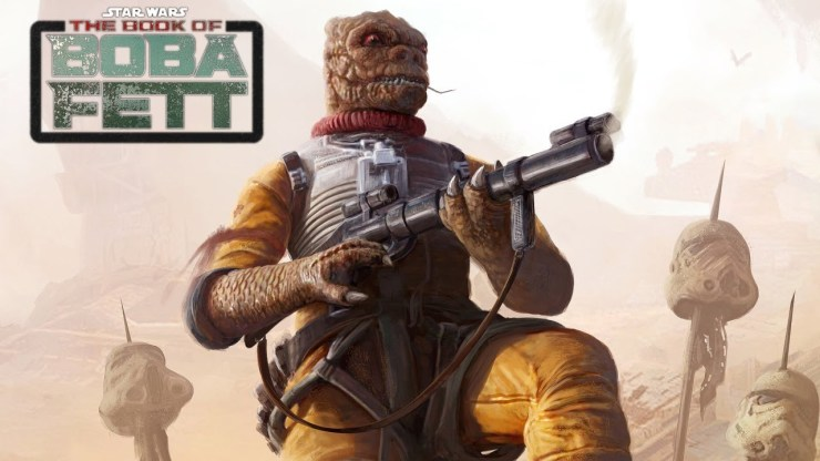 Bossk - The Book of Boba Fett Announcement and Breakdown