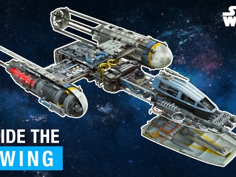 Star Wars: Inside the Y-Wing