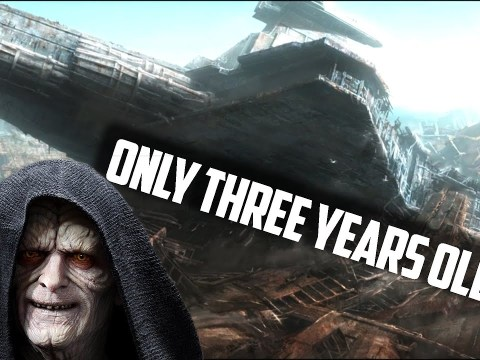 Why Did Palpatine Abandon the Venator Class Star Destroyer?