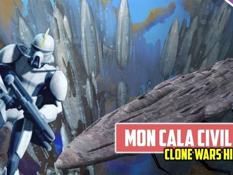 The Mon Calamari - Quarren Civil War | Clone Wars History