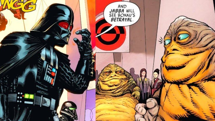 When Darth Vader Crashed Jabba's Auction (CANON)
