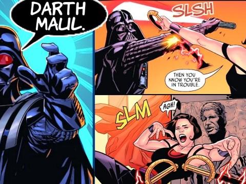 DARTH VADER FIGHTS MAUL'S APPRENTICE!! (CANON)