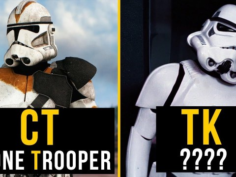 What does TK stand for? Why TK Stormtrooper ? (Deep Lore)