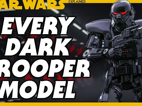 Every Phase and Model of Dark Trooper in Star Wars Canon