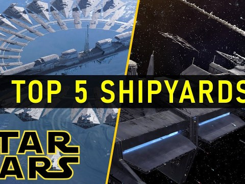 The 5 Largest Shipyards in Star Wars History (Legends)