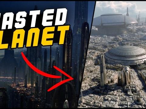The AWFUL Way Disney Star Wars has treated Coruscant