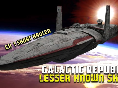8 Lesser Known Starships Used By the Galactic Republic